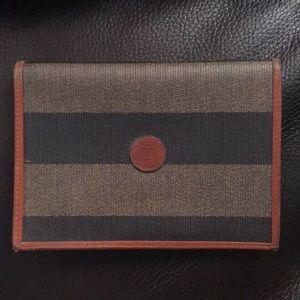 Fends Vintage Striped Wallet